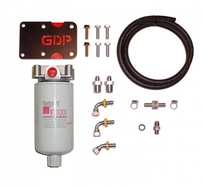 Glacier Diesel Power - '98.5-'02 GDP Dodge Ram MK-10 + Big Line Kit (non-heated)
