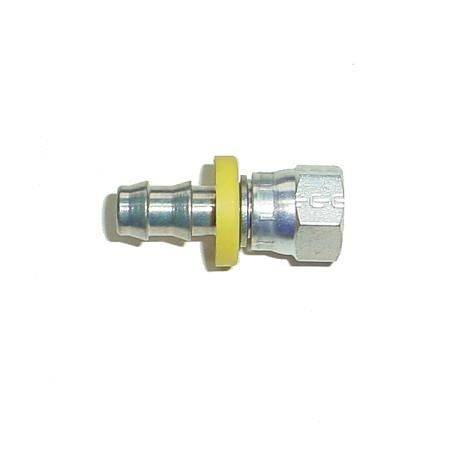 "Glacier Diesel Power - Parker -6 AN Female Swivel x 3/8"" PushLok Fitting (steel)"