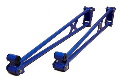 "Glacier Diesel Power - '03-'12 Dodge Ram Bolt-on ""Double X"" Ladder Bars"
