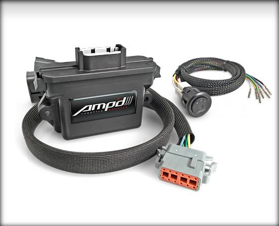 Amp'D - '07-'19 Dodge Ram 5.9L/6.7L Edge AmpD Throttle Booster Kit with Power Switch 38862-D