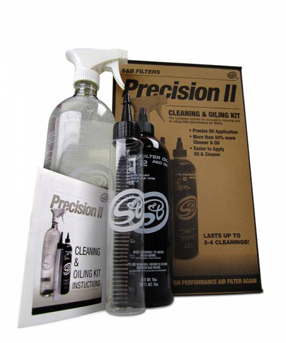 S&B - S&B Precision II Cleaning and Oiling Kit (Red Oil) 88-0008