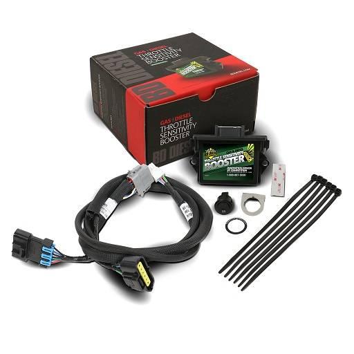 BD Diesel Performance - '07-'18 Dodge Ram 5.9L/6.7L BD Diesel 1057832 Throttle Sensitivity Booster & Switch Kit