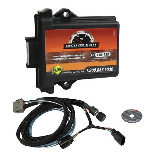BD Diesel Performance - '07-'18 Ram 5.9L/6.7L, '14-18 3.0L Ram EcoDiesel BD Diesel 1036622 High Idle Kit