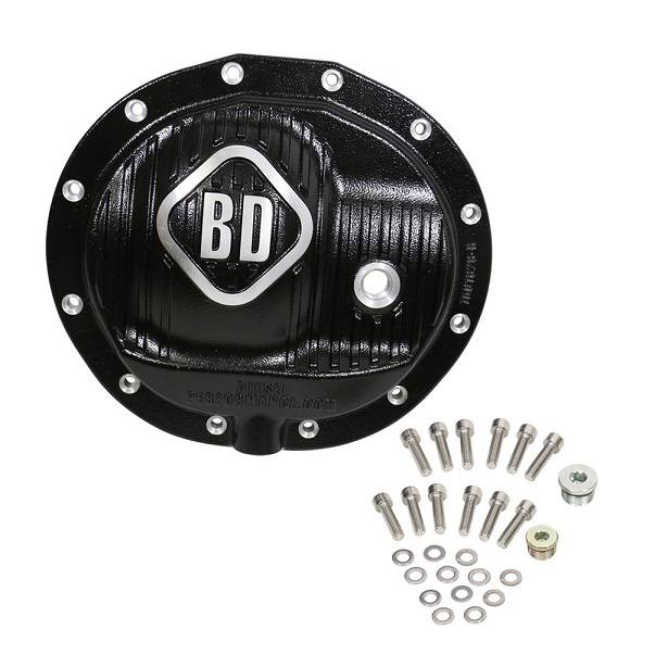 BD Diesel Performance - '13-'18 Dodge Ram BD Diesel 1061828 Front Differential Cover AA 12-9.25