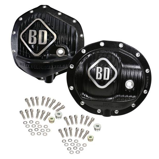 BD Diesel Performance - '13-'18 Dodge Ram BD Diesel 1061829 Front and Rear Differential Cover Pack