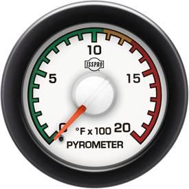 ISSPRO - IssPro R14031 EV2 EGT Gauge 100°-2000°
