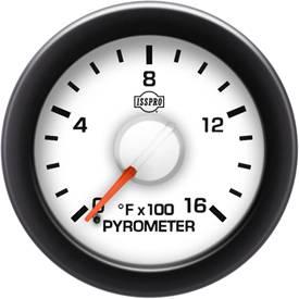 ISSPRO - IssPro R14022 EV2 EGT Gauge 100°-1600°