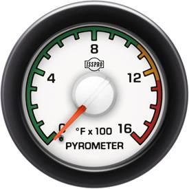 ISSPRO - IssPro R14021 EV2 EGT Gauge 100°-1600°