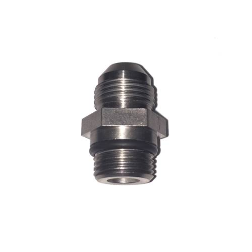 Glacier Diesel Power - -8 AN x 18mm Stainless Adapter Fitting for Front Feed of P-Pumps