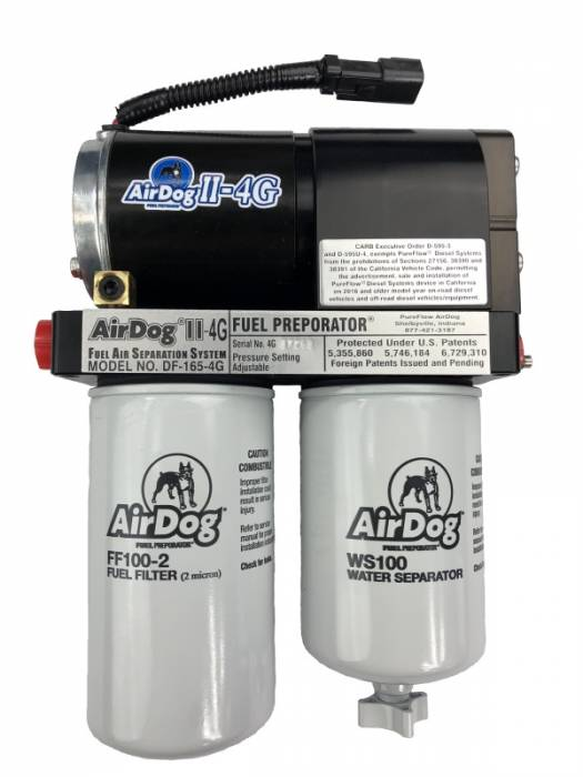 Pureflow Technologies - AirDog II-4G, DF-100-4G 1998.5 - 2004 Dodge Cummins WITH In-Tank Fuel Pump