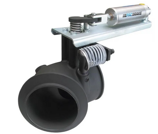 Pacbrake - Direct Mount 4 inch PRXB High Performance Exhaust Brake