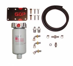 Fuel Filter Systems - 1997 thru 2002 Dodge Ram - Filter Systems - Glacier Diesel Power - '98.5-'02 Dodge Ram GDP MK-10 + Big Line Kit (non-heated)