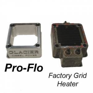 Glacier Diesel Power - '98.5-'07 Dodge Ram 5.9L GDP Pro-Flo Grid Heater Delete Block - Image 3