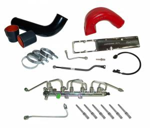 Engine Performance - Mega-Rail Conversion Kit - 5.9L - Glacier Diesel Power - '03-'07 5.9L Mega-Rail System (complete)