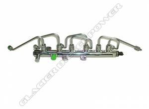 Engine Related - Mega-Rail Conversion Kit - 5.9L - Cummins - '07.5-'12 6.7L Cummins Fuel Rail & Injector Line Package