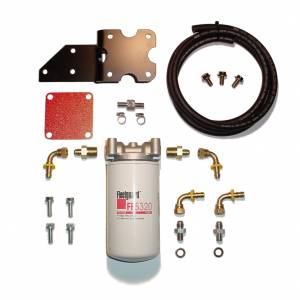 Fuel Filter Systems - 2003 thru 2007 Dodge Ram - Filter Systems - Glacier Diesel Power - '03-'07 GDP MK-2 + Big Line (Cylinder Head Mount)