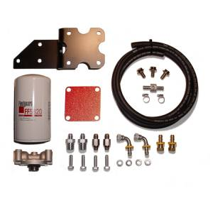 Fuel Filter Systems - 2007.5 thru 2012 Dodge Ram - Filter Systems - Glacier Diesel Power - '07.5-'09 Dodge Ram 6.7L GDP MK-2 + Big Line Kit
