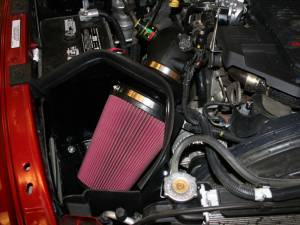 AIRAID - '07.5-'09 Dodge Ram 6.7L AIRAID 301-221 Performance Air Intake System (Dry - Red) - Image 2