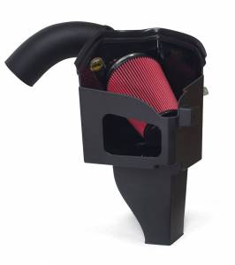 AIRAID Filter Systems - 2007.5 thru 2012 6.7L Ram - AIRAID - AIRAID - '07.5-'09 Dodge Ram 6.7L AIRAID 301-221 Performance Air Intake System (Dry - Red)