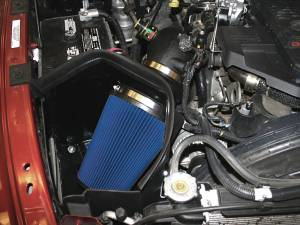 AIRAID - '07.5-'09 Dodge Ram 6.7L AIRAID 303-221 Performance Air Intake System (Dry - Blue) - Image 2
