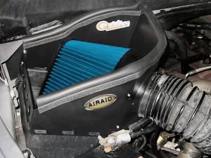 AIRAID - '94-'02 Dodge Ram 5.9L AIRAID 303-139 Air Box System (Dry - Blue) - Image 2