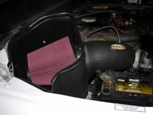 AIRAID - '94-'02 Dodge Ram 5.9L AIRAID 301-269 MXP Air Intake System (Dry - Red) - Image 2