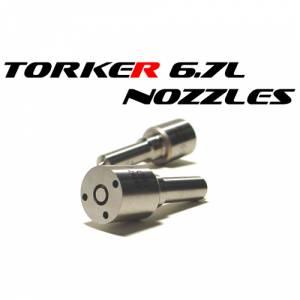 """Torker 6.7L Injector Nozzles - GDP '13-'18 Cummins 6.7L """"TORKER"""" Injector Nozzles - Glacier Diesel Power - '13-'18 GDP 6.7L TORKER-II 75 HP Injector Nozzles"""