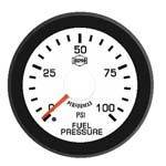 Gauges & Mounts - Isspro EV2 Analog Gauges & Accy's - ISSPRO - EV2 Fuel Pressure 0-100