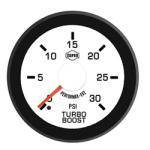 Gauges & Mounts - Isspro EV2 Analog Gauges & Accy's - ISSPRO - EV2 Turbo Boost 0-30