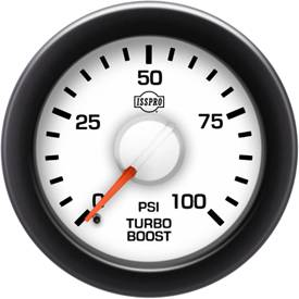 Gauges & Mounts - Analog Gauges & Accy's - ISSPRO - IssPro R14433 EV2 Turbo Boost 0-100