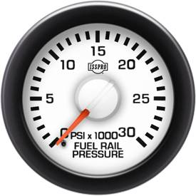Gauges & Mounts - Analog Gauges & Accy's - ISSPRO - IssPro R14289 EV2 Rail Pressure Gauge
