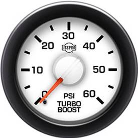 Gauges & Mounts - Analog Gauges & Accy's - ISSPRO - IssPro R14233 EV2 Turbo Boost 0-60 PSI