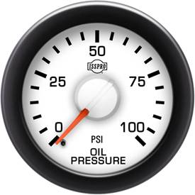 Gauges & Mounts - Analog Gauges & Accy's - ISSPRO - IssPro R14211 EV2 Engine Oil Pressure 0-100