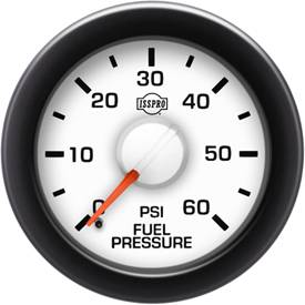 Gauges & Mounts - Analog Gauges & Accy's - ISSPRO - IssPro R14077 EV2 Fuel Pressure 0-60