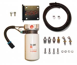fuel filter systems - 2013 thru 2019 dodge ram - filter systems - glacier  diesel power  '