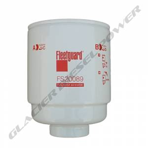 Filter Elements - Air, Oil, Fuel, CCV - Fuel Filters - Fleetguard - '13-'18 Fleetguard FS20089 Primary Fuel Water Separator Filter