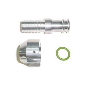 Cooling System & Related - Cooling System & Related - Glacier Diesel Power - '13-'18 Billet Standpipe Heater Hose Adapter