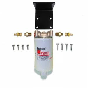 Fuel Filter Systems - DIY & Universal Filter Kits - Filter Systems - Rattlin' Truck and Tractor - Universal Inline 10 mic F/W Separator Filter