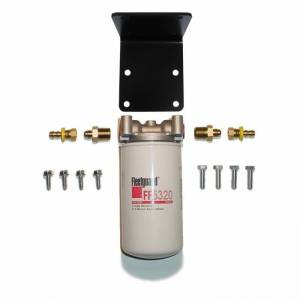 Fuel Filter Systems - DIY & Universal Filter Kits - Filter Systems - Rattlin' Truck and Tractor - Universal Inline 2 Micron Fuel Filter