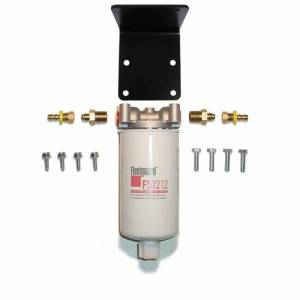 Fuel Filter Systems - DIY & Universal Filter Kits - Filter Systems - Rattlin' Truck and Tractor - Universal Inline 20 mic F/W Separator Filter