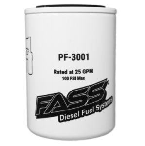 Filter Elements - Air, Oil, Fuel, CCV - Fuel Filters - FASS - FASS PF-3001 Fuel System Replacement Filter